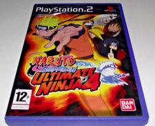 Naruto Shippuden Ultimate Ninja 4 PS2 PAL *No Manual*