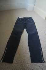 J Brand Skinny Leg Washed Out Black Jeans