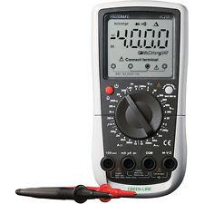 Multímetro Digital Vc250 Línea Verde 2000 contar Cat Iii 600v voltcraft Test Medidor