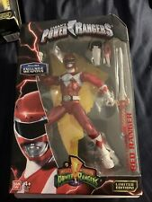 "Mighty Morphin Power Rangers Legacy Collection Red Ranger Metallic 6"" Figure"