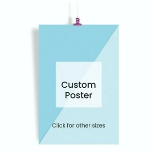 Print Your Own Photo Image Poster Flyer Wall Art Custom Prints