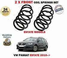 FOR VW PASSAT ESTATE ONLY 1.6 2.0 TDI 2.0 TSI  2010-> 2x FRONT COIL SPRINGS SET
