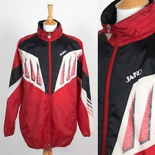 MENS 90'S VINTAGE CAGOULE RAIN JACKET FOOTBALL SPORT TRAINING OUTDOORS RETRO XL