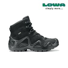 Chaussures Rangers Lowa Zephyr mid Gore-Tex noires taille 43,5 / gtx Task Force