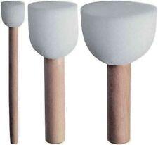 Marabu Schablonierpinsel, 3er Set Stupfpinsel zum Schablonieren