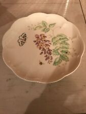 LENOX China BUTTERFLY MEADOW Eastern Tailed Blue Accent LUNCHEON PLATE NEW