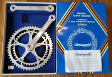 NOS Campagnolo super Record strada crank  old stock new 53/42 tooth 180mm arms