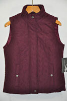 NWT Women's Nine West, Quilted Vest Jacket. Size M -Light Weight