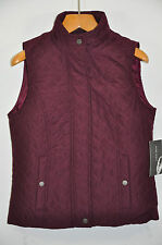 NWT Women's Nine West, Quilted Vest Jacket. Size M.