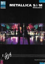 Partition basse voix - Metallica - S & M