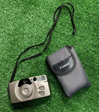 Canon Sure Shot 85 Zoom 35mm Point & Shoot Film Camera With Film Strap And Case