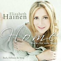Elizabeth Hainen - Home: Works For Solo Harp By Bach, Debussy and Sting [CD]