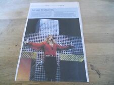 Madonna Danish Press Article Live In Denmark 2005 Ready For Madonna On The Cross