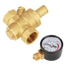 DN20 Ajustable Réducteur Régulateur de pression d'eau en Laiton + Gauge Mètre