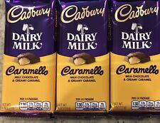 3 Cadbury Dairy Milk Caramello MILK CHOCOLATE & CREAMY CARAMEL