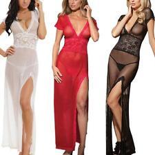 Sexy Lingerie Femme Dentelle Robe Lingerie Nuit Vêtements G-string Bodycon Mode