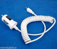 5V 2A Fast Car Charger WHITE for Motorola Moto E G X Droid Razr M HD Maxx I V