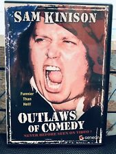 Sam Kinison Outlaw of Comedy DVD In San Francisco One Of Last Performance Vtg