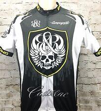 Rock & Republic Cadillac Racing Team Cycling Jersey XL Full zip Stella Azzurra