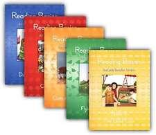 Alpha Omega Lifepac Reading Basics Set of 5 1st Grade Readers - Elementary NEW!