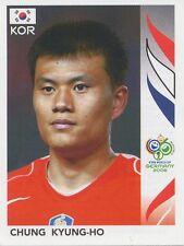 N°510 CHUNG KYUNG-HO # SOUTH KOREA STICKER WORLD CUP GERMANY 2006 PANINI