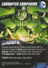 CORRUPT COMPANION DC Comics Deck Building Game card CRISIS 2 HAL JORDAN PARALLAX