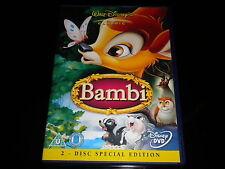 BAMBI - 2 Discos Edición Especial DVD - 1942 - Walt Disney Restaurado - REGIÓN 2