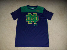 Pre-Owned Under Armour Heat Gear Men'S Loose Fit Notre Dame T-Shirt Size Small