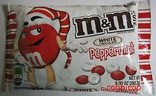 (100 gr = 2,20 €) M&M´s WHITE PEPPERMINT im medium bag +++ 226,8 gr  +++