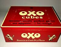 Collectable 1950's - OXO CUBES TIN - 24-6's (The Lunch Box Tin)