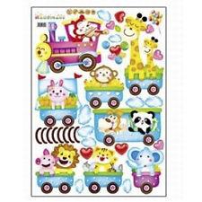Animal Wall Sticker Monkey Giraffe Tree Train Nursery Baby Kids Room Decors New