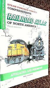 SPV'S COMPREHENSIVE RAILROAD ATLAS OF NORTH AMERICA: APPALACHIA & PIEDMONT (1997