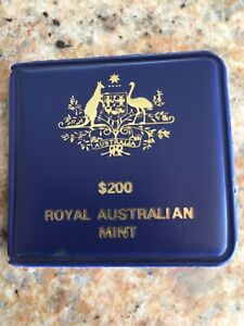 1983 Australian $200 UNC Gold Coin Koala