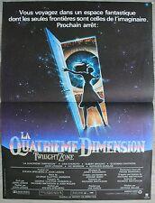 LA QUATRIEME DIMENSION Twilight Zone Affiche Cinéma 53x40 pliée Movie Poster