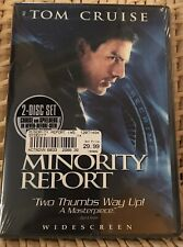 Minority Report (Dvd, 2002,2-Disc Set, Widescreen)New, Factory Sealed.Tom Cruise