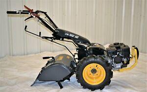 Trac Vac Rear Tine Tiller Garden Roto Walk Behind Tractor Multi Function