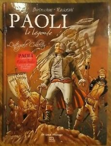 BD Paoli Intégrale Collector Rückstühl DCL éditions bande dessinée Corse Lumière