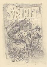 Spirit The Abb. Postkartengröße Will Eisner Motiv Karte 1 Klubartikel