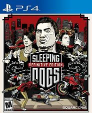 Sleeping Dogs: Definitive Edition (Sony PlayStation 4, 2014)