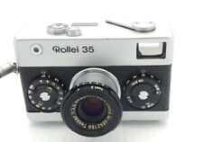 Vintage Rollei 35 Silver Film Camera w/ Tessar 40mm F/3.5 Lens Made in Germany