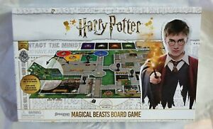 Harry Potter Board Game Magical Beasts As New Never Used 2-4 Players 8+