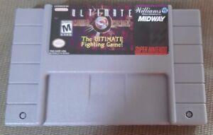Ultimate Mortal Kombat 3 ( Super Nintendo Entertainment System, 1995 ) Snes game