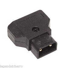 D-Tap conector Anton Bauer V batería de bloqueo de energía DSLR Kit de 2-pin Macho A001
