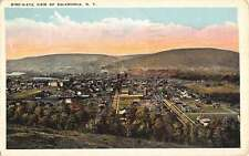 Salamanca New York Birdseye View Of City Antique Postcard K31101
