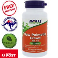 Now Foods Saw Palmetto Extract, 320 mg, 90 Vegan Softgels