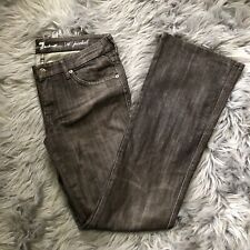 """7 (Seven) for All Mankind Women's Size 29 """"A Pocket"""" Denim Brown Jeans"""