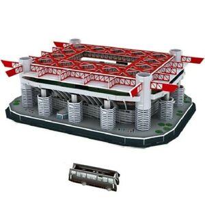 Puzzle 3D stadio San Siro Giuseppe Meazza  Milan 139pezzi collezione decorazione