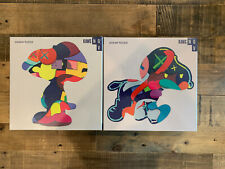"""New Exclusive KAWS NGV Jigsaw Puzzle Set """"No Ones Home"""" and """"Stay Steady"""""""