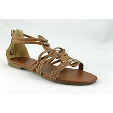 Sandalias y chanclas de mujer planos marrón G by GUESS