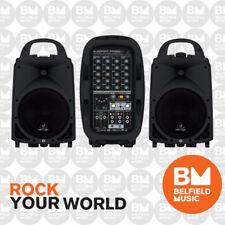 Behringer EUROPORT PPA500BT Portable PA System 500-Watt 6-Channel w/ Bluetooth
